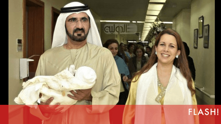 Fuga polémica da princesa Haya do Dubai  Afinal, a culpa é do guarda