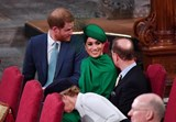 Meghan Markle, Harry, Kate, William, Sofia e príncipe Eduardo
