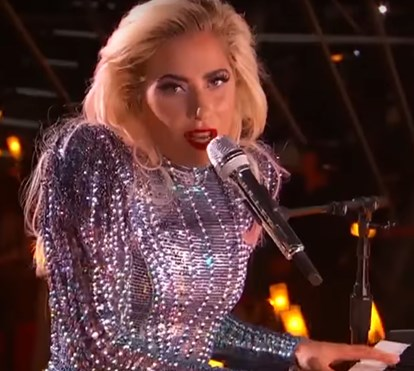 A atuação de Lady Gaga no Super Bowl 2017