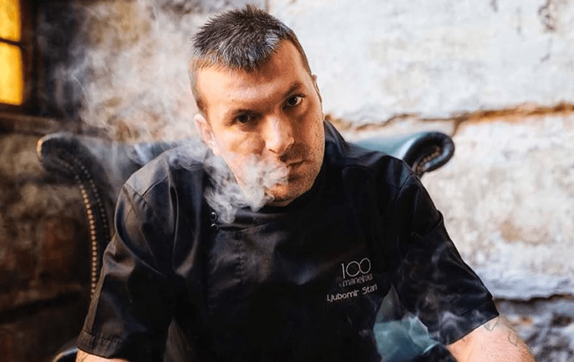 O chef Ljubomir Stanisic