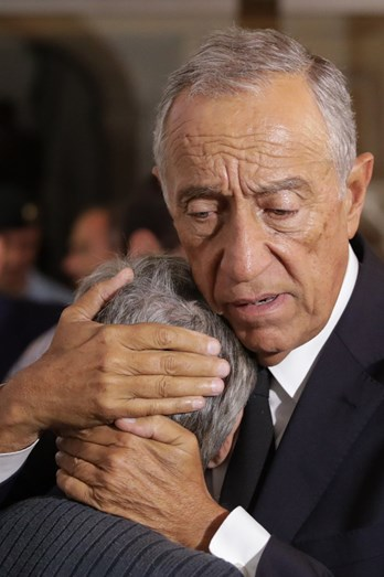 Marcelo Rebelo de Sousa visita Oliveira do Hospital