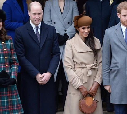 Meghan Markle afasta Harry de Kate Middleton e do príncipe William