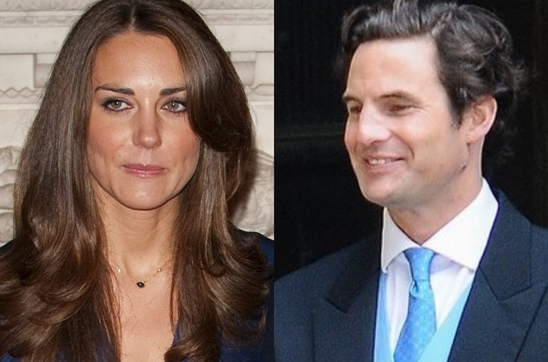 Kate Middleton e Rupert Finch